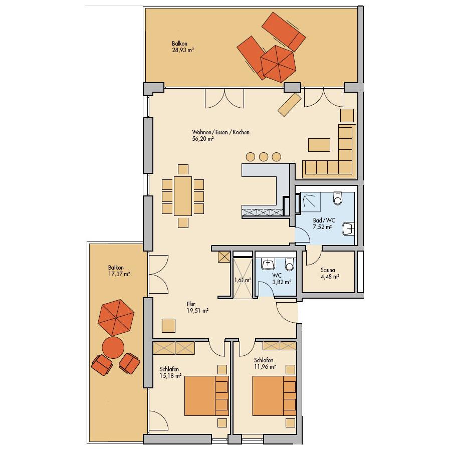 Haus Meerdüne Wohnung 15
