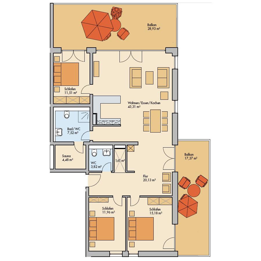 Haus Meerdüne Wohnung 16